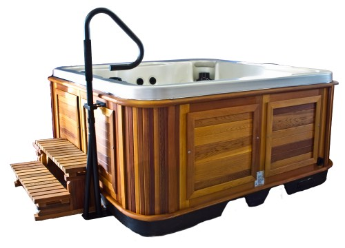 Arctic Spas Hot Tub Handrail Side Angle